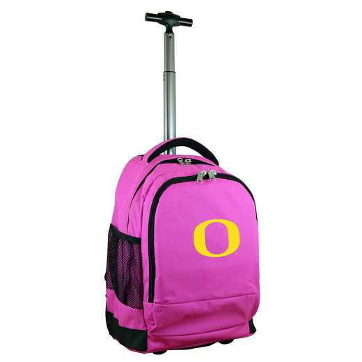 CLODL780-PK: NCAA Oregon Ducks Wheeled Premium Backpack